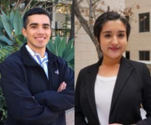Eduardo Paez and Natalia Arguello-Inglis