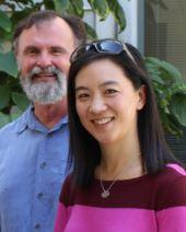 Headshot of Professors Smith and Han